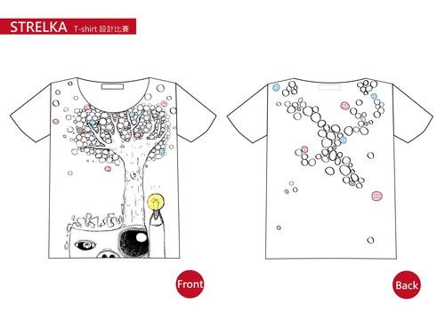 t恤点线面设计