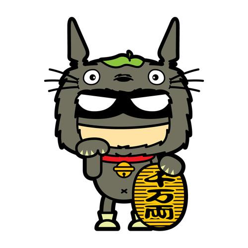 谁有电影【龙猫】里面大龙猫的图片_第3页_乐乐简笔画